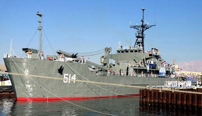 Lavan warship, SH3D helicopter join Iran Navy fleet