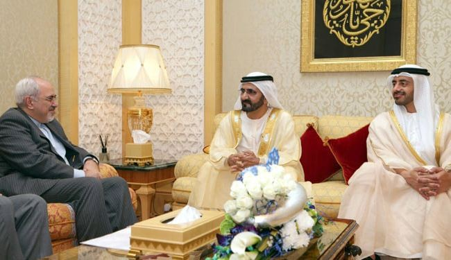 Iran's foreign minister arrives in UAE, meets with PM