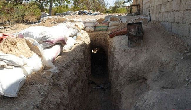 Iraq discovers smuggling tunnels at Syria border