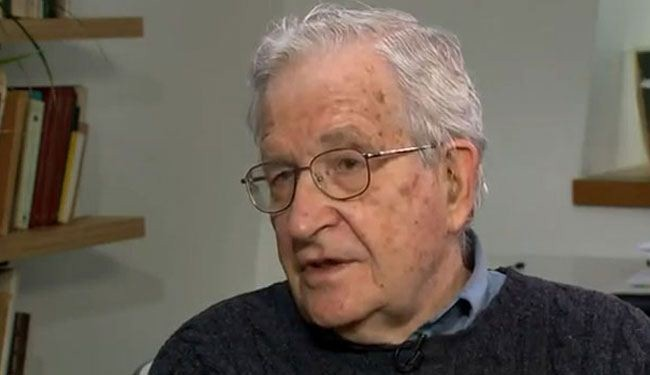 US, Israel willfully use terror in Mid-East: Chomsky