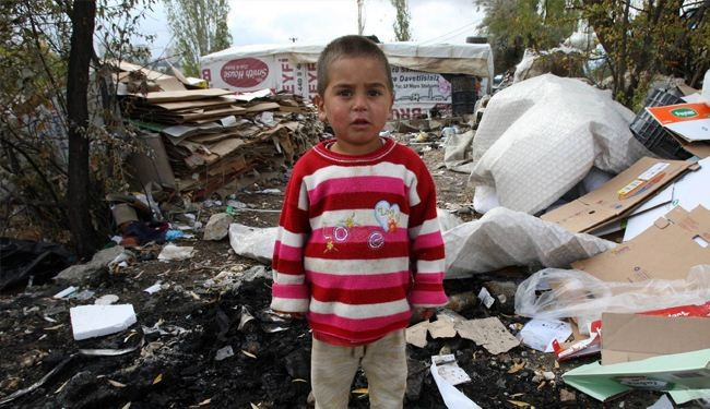 Bleak future ahead of Syrian children