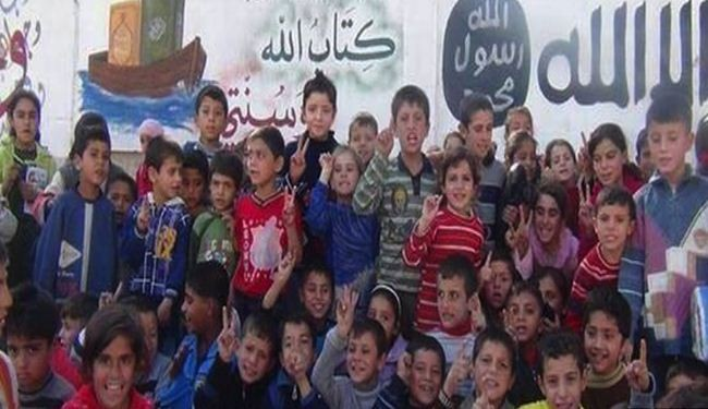 ISIL terrorists recruit children for war in Syria