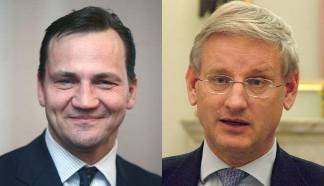 Polish, Swedish FMs due in Iran for talks