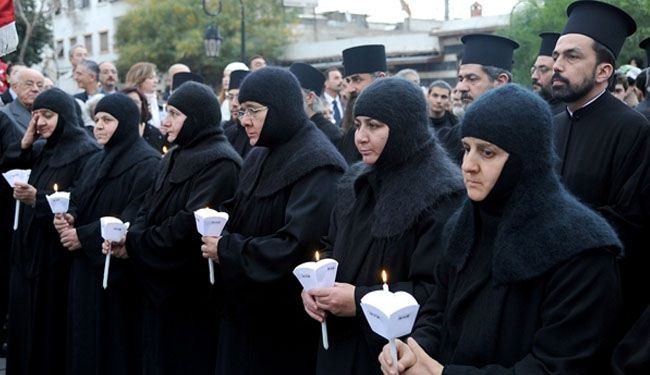 'Qatar in talks with militants to free Syrian nuns'