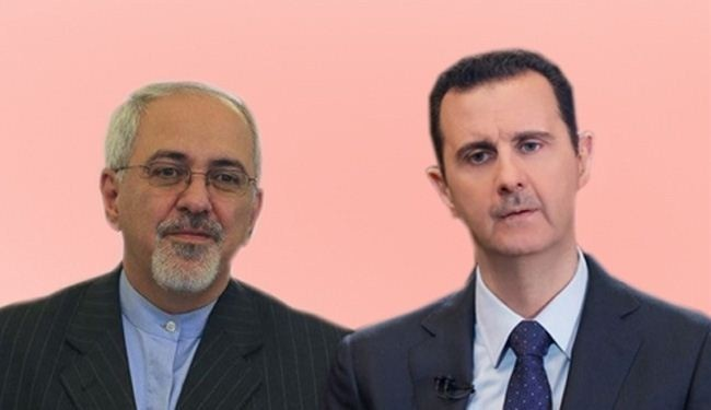 Assad, Zarif hold security talks in Damascus