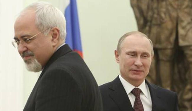 What happened during meeting between Putin and Zarif