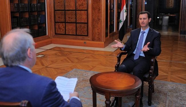 Assad: Syria's loss means chaos in the Middle East