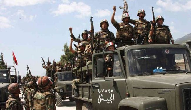 Syria army uproots scores of militants in several provinces