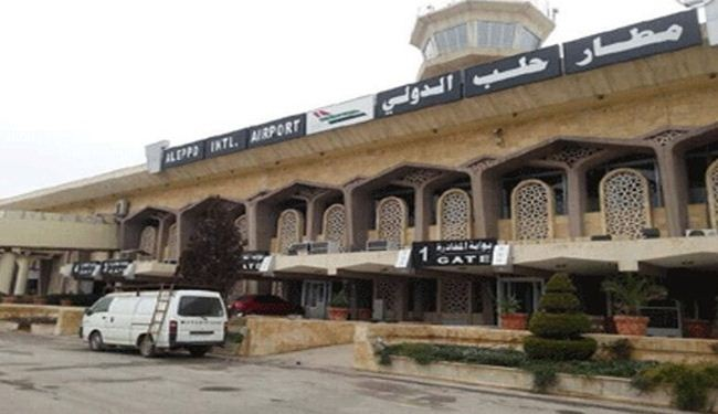 1st plane in over a year lands in Aleppo airport: photos