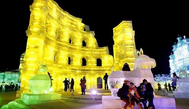 In pircture: China's incredible international ice festival