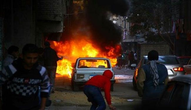 Another blast hits Cairo police compound