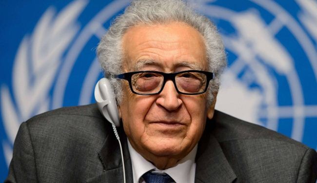 Brahimi: Mutual respect between Syrian sides