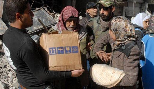 Aid supplies finally enter Yarmouk camp of Damascus