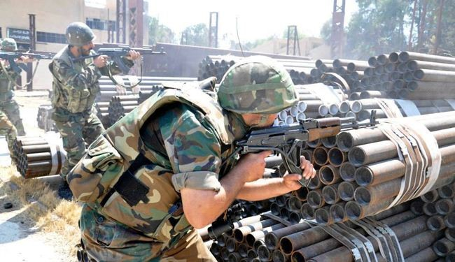 Syria army beefs up operations in Qalamoun