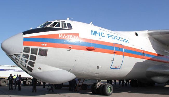 Russian aid aircrafts land in Syria's Latakia