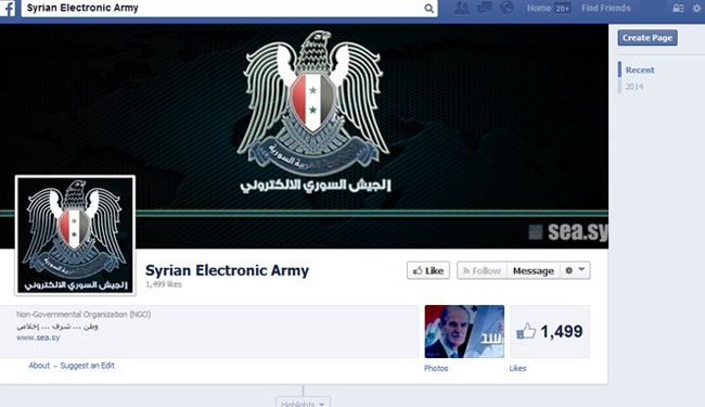 Syrian Electronic Army hacks into Facebook domain