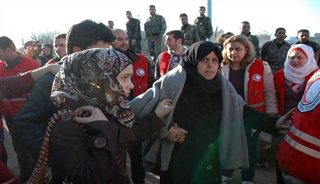 Six hundred Syrians evacuated from Old Homs