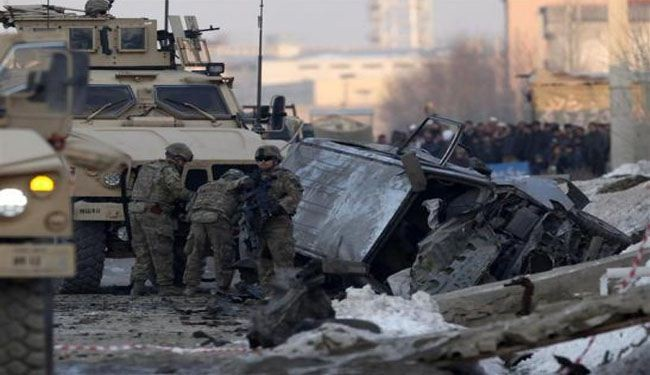 Two US contractors killed in Afghanistan blast
