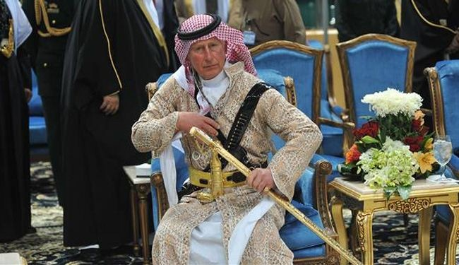 Prince Charles takes part in Saudi sword dance: Photos