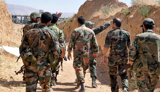 Syrian army steps away from retaking strategic Qalamoun area