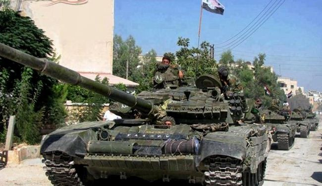 Syrian army continues battle in Aleppo, Homs