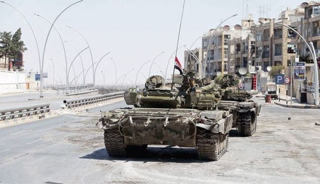 Syrian army kills scores of militants in Aleppo's Hanano