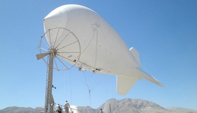 Israel launches spy balloon near Lebanon border