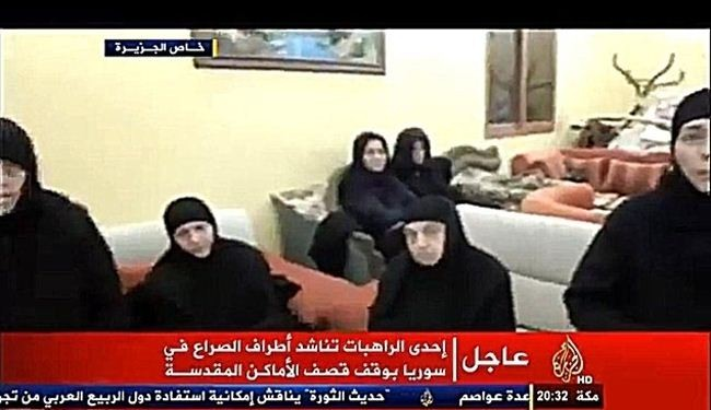 Al-Qaeda militants may release Syrian nuns in hours