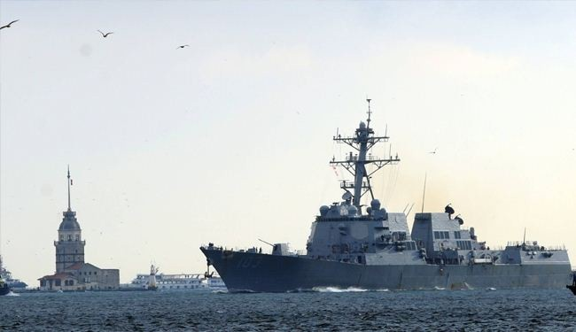 US warship arrives in Black Sea amid tensions with Russia
