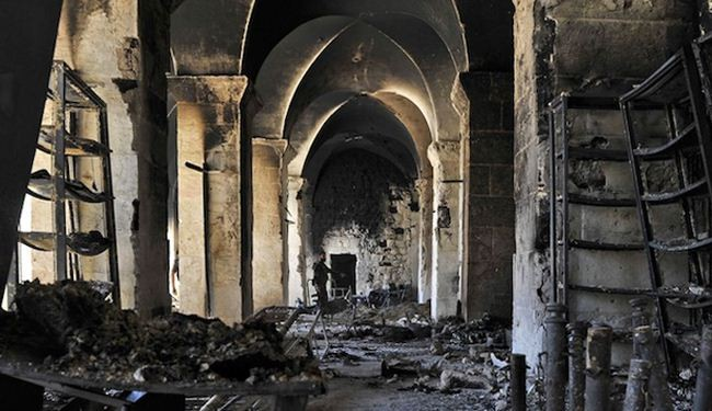UN urges halt to attacks on Syria cultural sites