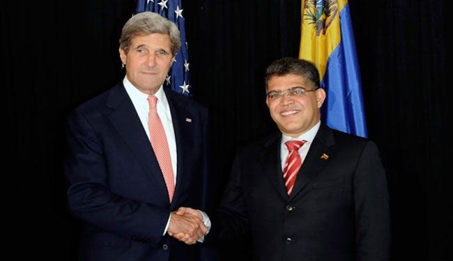 Kerry called 'murderer' by Venezuelan counterpart
