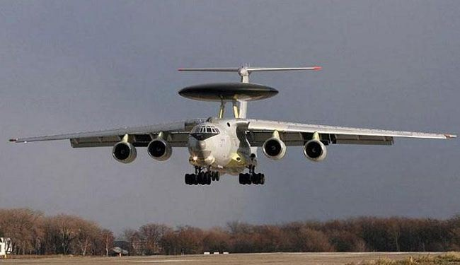 Russia redeploys early warning jet to Belarus