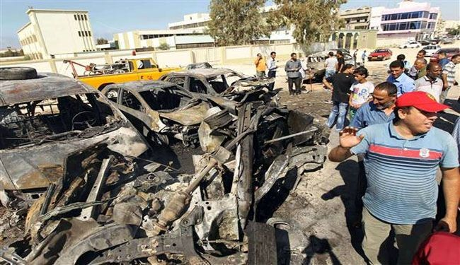 Car bomb kills at least eight at Libya army base
