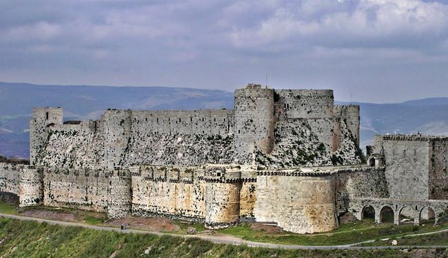Medieval castle near Homs recaptured by Syrian army
