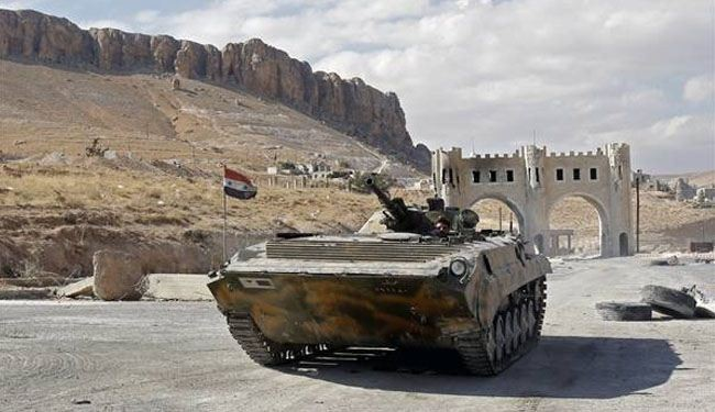 Syria army advances against militants; many killed