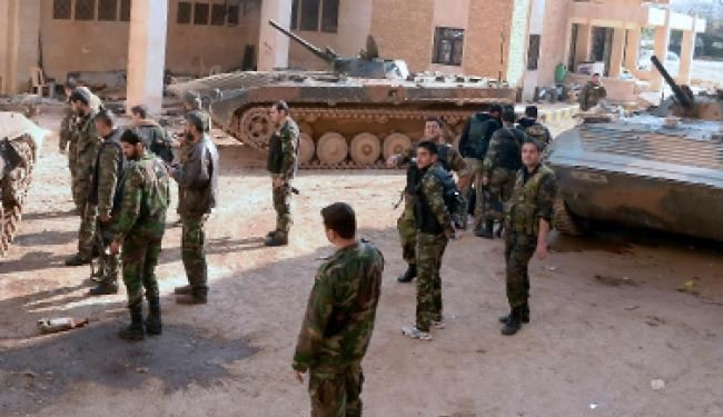 5 militant commanders killed in Aleppo prison clashes