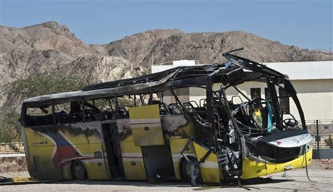 Militants attack Egyptian army bus, kill 1, injur 3