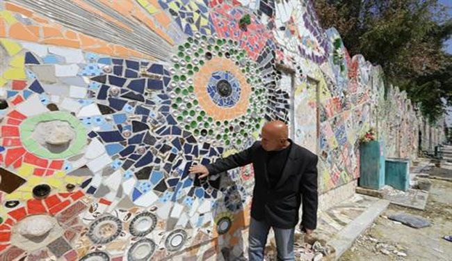 Syria artists set Guinness record with Damascus mural