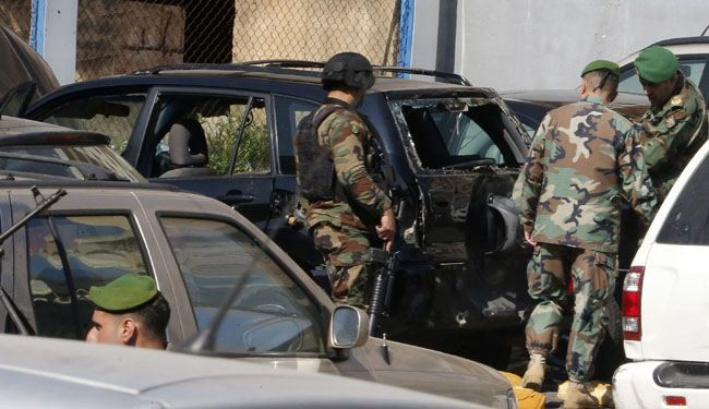 Army confiscates massive car bomb in east Lebanon
