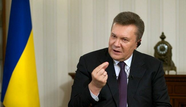 Yanukovych calls Crimea annexation 'a pain and a tragedy'