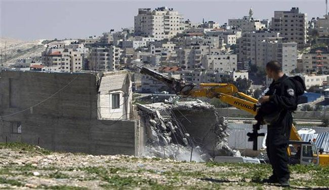 Israeli forces storm, demolish Palestinian homes