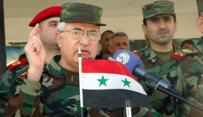 Syrian army chief praises victories against militants