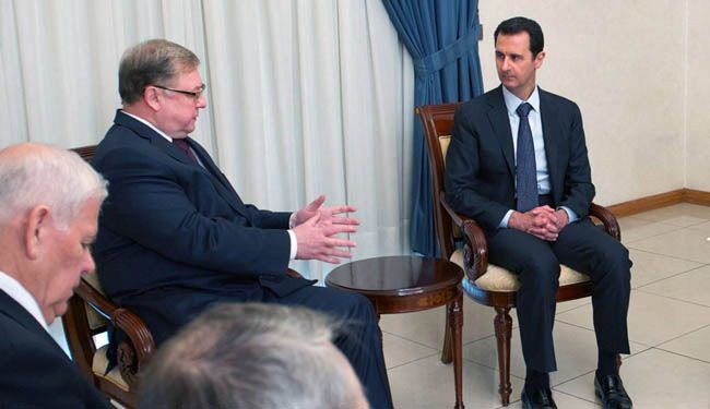 Active phase of war over this year: Assad tells Russia ex-PM