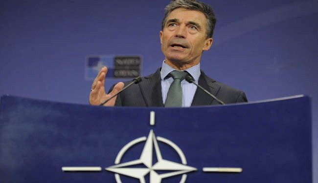 Russia condemns NATO for 'Cold-War-era' rhetoric