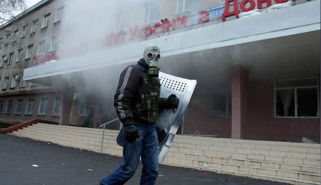 Pro-Russian protestors seize more buildings in east Ukraine