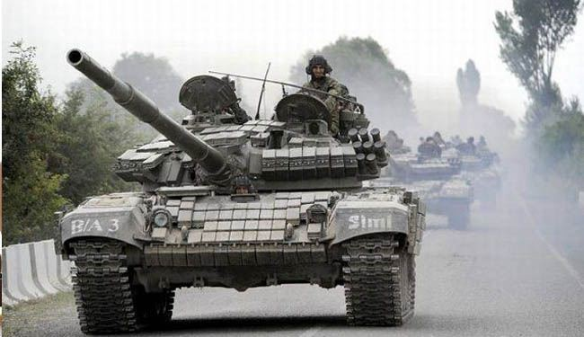 Russia ready to let tanks roll across borders: Germany