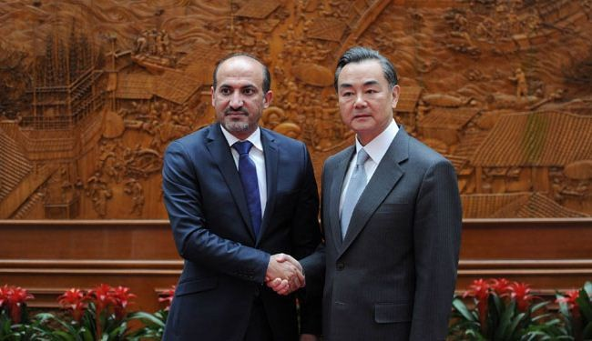 Syria at 'critical moment', China tells opposition chief