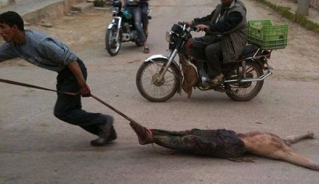 Terrorists abuse, decapitate Syrian soldiers