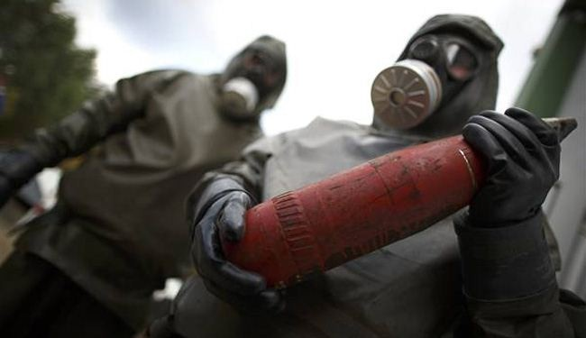 US: Indications toxic chemical used in Syria