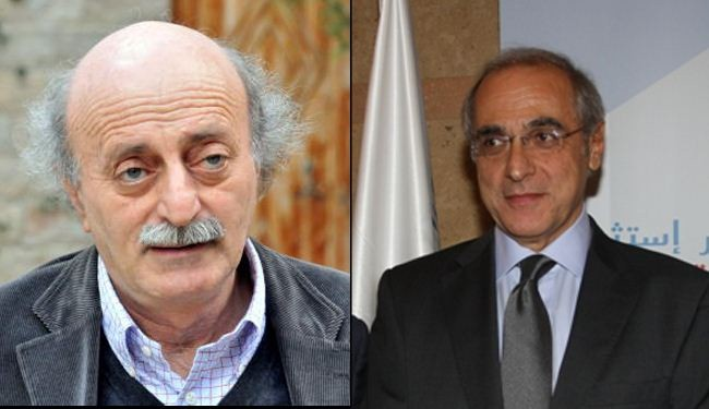 Jumblatt endorses Helou as 'voice of moderation' for Lebanon